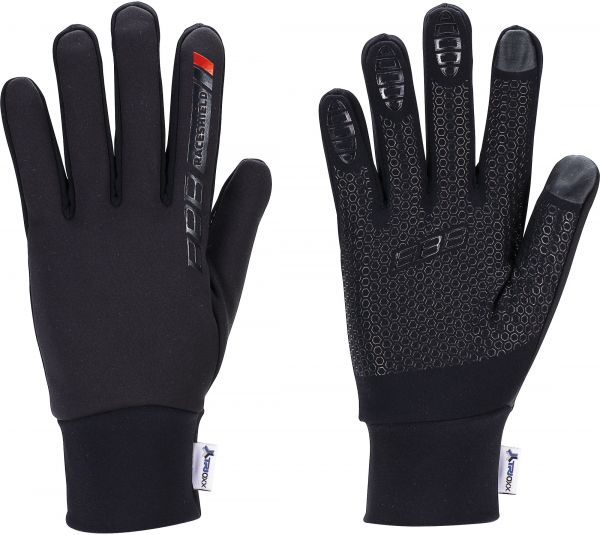 BBB Raceshield Lange Handschuhe BWG-11W schwarz, mit Windblocker